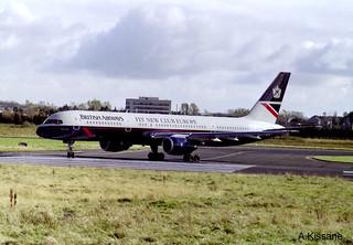 BRITISH A/W B757 G-BIKV