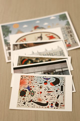 Day 194 (material grrrl) Tags: 365 collection postcards cards barcelona joanmiro memories spain