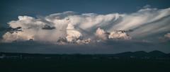 Storms on the Horizon (jasohill) Tags: gorgous contast landscape color black tohoku nature photography life city hachimantai bw iwate japan white