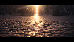 [ Stepping Stones ] (Visual Flows) Tags: amsterdam visual flows dam square photography cinematography cinematic widescreen 169 panoramavision stones dof sun rays palace