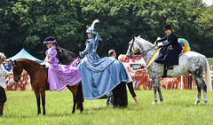 Concourse d'elegance (littlestschnauzer) Tags: honley show country rural horses equine 2018 uk june concourse eelegance costume