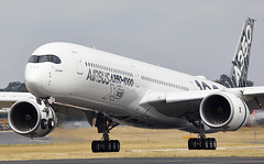 A350-1000 (Bernie Condon) Tags: airliner airbus a350 xwb widebody passenger jet twin aircraft aviation transport a3501000 fbo farnborough airshow display flying