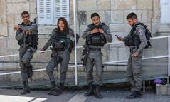 israel jerusalem alquds oldcity borderpolice police... (Photo: ybiberman on Flickr)