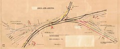 King's Lynn Junction 1950s (P Way Owen) Tags: kings lynn junction signalbox diagram