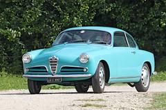 Alfa Romeo Giulietta Sprint (Roger Wasley) Tags: alfaromeo toddington classic car day gloucestershire cars giulietta sprint