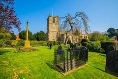 The beautiful Church of All Saints in the historic town of KIrbymoorside. (Geordie_Snapper) Tags: allsaintschurch canon1635mm canon5d4 kirbymoorside may northyorkshire summer sunny