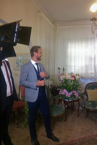 Jude Law, invité d'honneur... or ce n'était que l'ami Ralph Asmar