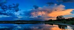 Teco_180508_5461-Pano (tefocoto) Tags: clouds embalse españa landscape madrid nature nubes pablosaltoweis paisaje reservoir spain storm teco tormenta valmayor