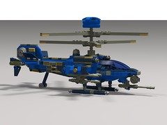 shark v5 chopper2 (demitriusgaouette9991) Tags: lego military army ldd helicopter gunship future powerful flying aircraft