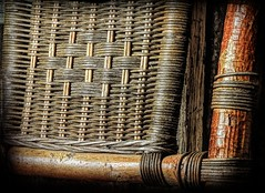 Wicker Back (clarkcg photography) Tags: wicker wickerback chair weave straw texture texturaltuesday