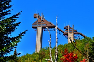 Lake Placid  New York ~ Olympic Jumping Complex - Adirondack Mountains