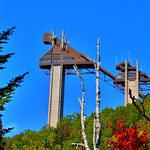 Lake Placid  New York ~ Olympic Jumping Complex - Adirondack Mountains thumbnail