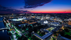 MIT Sunset (TomBerrigan) Tags: mit boston cambridge sunset drone aerial massachusetts institute technology