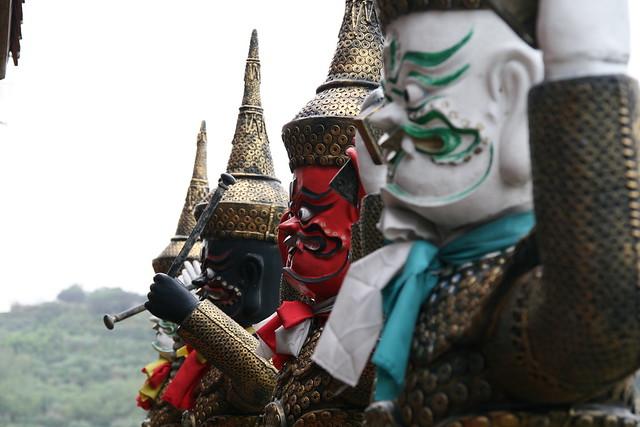 台湾のカオス過ぎるお寺『金剛宮』 (台北発のオプショナルツアー)