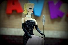 Barbie Sings - Bijou Planks 174/365 (MayorPaprika) Tags: canoneosrebelt6i macro mini figs figure paprihaven pvc miniature smallscale figurine theater diorama toy story scene custom bricks bijouplanks plastic vinyl barbie hallmark ornament solointhespotlight