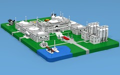 DA3 Capitol (Speculative) (ABS Shipyards) Tags: lego da3 decisive action 3 micro building architecture capitol fountain brewery rotunda