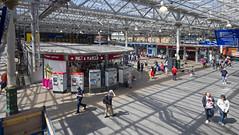 Waverley Railway Station, Edinburgh (Joe Son of the Rock) Tags: station railwaystation waverley waverleystation edinburghwaverleystation edinburgh concourse