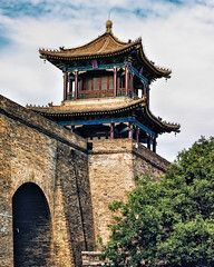 Xi'an Stadttor Wen Chang City Gate (joern_ribu) Tags: architektur architecture china chinese gebäude building history city historic altstadt stadttor stadtmauer wall gate