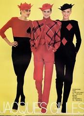 Jacques Gilles 1979 (barbiescanner) Tags: jacquesgilles vintage retro fashion vintagefashion 70s 70sfashions 1970s 1970sfashions 1979