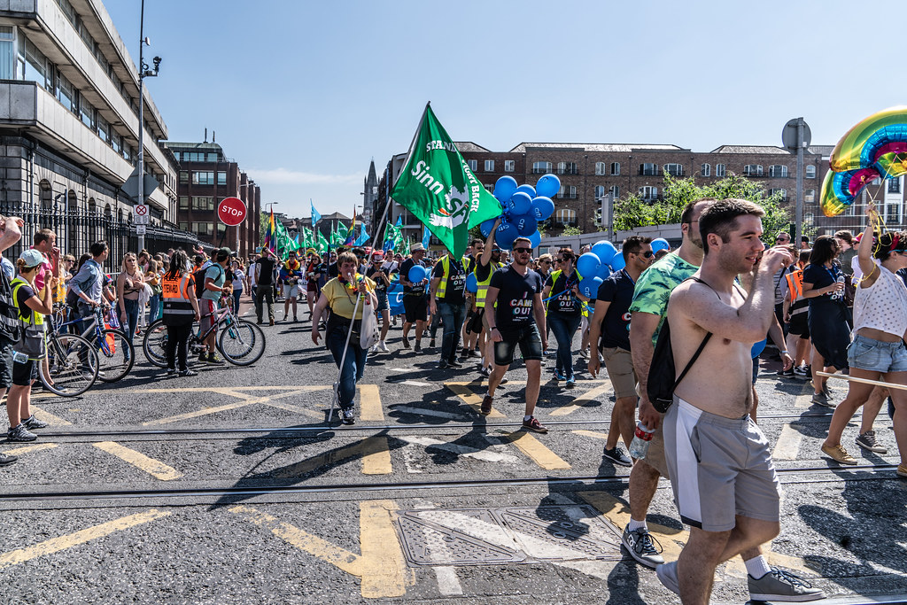 ABOUT SIXTY THOUSAND TOOK PART IN THE DUBLIN LGBTI+ PARADE TODAY[ SATURDAY 30 JUNE 2018] X-100083