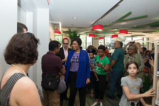 Mayor Muriel Bowser  Cut the Ribbon on Cleveland Park Library