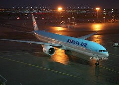 Korean                                             Boeing 777                                    HL8216 (Flame1958) Tags: korean koreanb777 koreanairlines koreanairways boeing777 boeing b777 777 hl8216 fra 241113 1113 2013 dusk frankfurtairport frankfurt germany 9965
