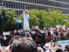 Taboo from the Black Eyed Peas performs at L.A.'s Families Belong Together March (lukeharold) Tags: families belong together gavin newsom kamala harris