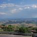 Viale Giuseppe Mazzini, Volterra - stunning views of distant fields