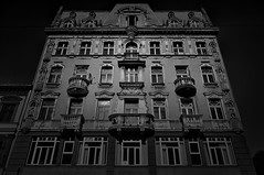 According to the time and circumstances (4eye) Tags: łódź polska poland 4eye amateur nikon nikkor piotrkowska blackandwhite bw 18105mmf3556gvr city