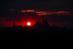 Sunset over Philadelphia (Brian E Kushner) Tags: philadelphia skyline philadelphiaskyline haddon township new jersey night photography cityscape ©brianekushner nikon d850 nikond850 nikon70200mmf28 70200mm f28 nikor