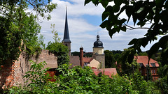 Jakobi Kirchturm und Riedtor // Arnstadt (seyf\ART) Tags: arnstadt town urban stadt architektur thuringia thüringen