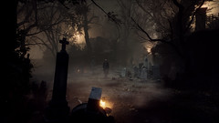 The Man Who Walks V2 (de:mo) Tags: vampyr atmosphere cemetery graveyard figure walk