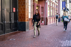 San Francisco 2018 (burnt dirt) Tags: sanfrancisco california vacation town city street road sidewalk crossing streetcar cablecar tree building store restaurant people person girl woman man couple group lovers friends family holdinghands candid documentary streetphotography turnaround portrait fujifilm xt1 color laugh smile young old asian latina white european europe korean chinese thai dress skirt denim shorts boots heels leather tights leggings yogapants shorthair longhair cellphone glasses sunglasses blonde brunette redhead tattoo pretty beautiful selfie fashion japanese gold tight orange pink