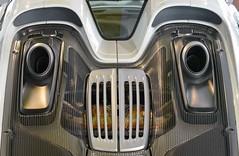 The face of a Porsche Spyder (Gary-West Sussex) Tags: porsche spyder car mechanics face