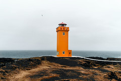 Red Lighthouse (markboldy) Tags: iceland lighthouse westfjords fjord red sea nature landscape travel traveling travelphotograthy wild outdoor