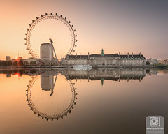Wheel at Sunrise (Syxaxisphoto) Tags: britain british england london londoneye riverthames syxaxisphotography thames architecture attraction capital city cityscape clearsky countyhall dawn daytime embankment famousplace historical horizontal iconic landmark landscape monument morning nocloud nopeople noperson reflection riiverside seascape sightseeing sky skyline summer sunrise symmetrical symmetry tourism tourist uk urban urbanscape water waterscape wheel wwwsyxaxiscom