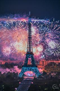 Bastille day fireworks 🇫🇷