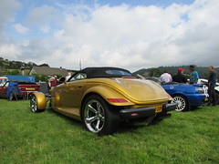 Chrysler Prowler E8OOP (Andrew 2.8i) Tags: show car cars classic classics gwili railway transport day bronwydd arms american custom hotrod v6 open cabriolet convertible roadster plymouth prowler