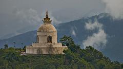 Nepal (Rolfmundi) Tags: pagoda stupa nepal pokhara friedenstupa architektur