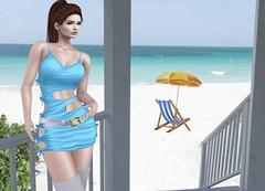 Mila Blauvelt (Mila Blauvelt) Tags: milablauvelt model blogger avatar virtual secondlife shopping sl exclusive event dress dressfashion designers giuliadesign girl style casualstyle casual casualwoman c