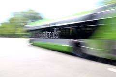 CT fastrak (-SOLO--) Tags: flickrfriday bus ctfastrak fast longexposure