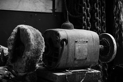 The Buffing Machine (stujfoster) Tags: farm shed urbex gritty urban uk england