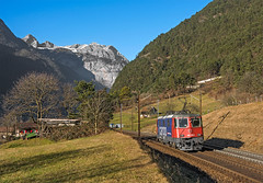 SBB Re420 165 (maurizio messa) Tags: nikond7100 re44ii re420 lis switzerland svizzera uri gottardo gotthard treni trains railway railroad mau bahn ferrovia