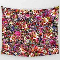 FLORAL SCREEN WALL T (mandalatapestry) Tags: tapestry wall mandala
