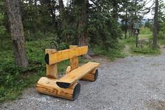 HBM Happy bench Monday (davebloggs007) Tags: hbm happy bench monday yamnuska kananaskis alberta canada 2018