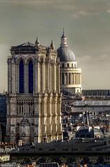 Des Tours de Notre Dame au Panthéon : sur les traces de Victor Hugo (laurentcornu) Tags: laurentcornu victorhugo france nikon lepanthéon cityscape travelling notredame paris