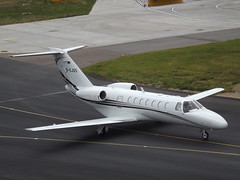 D-CJOS Cessna Citation CJ3 Luxaviation Germany (Aircaft @ Gloucestershire Airport By James) Tags: luton airport dcjos cessna citation cj3 luxaviation germany bizjet eggw james lloyds