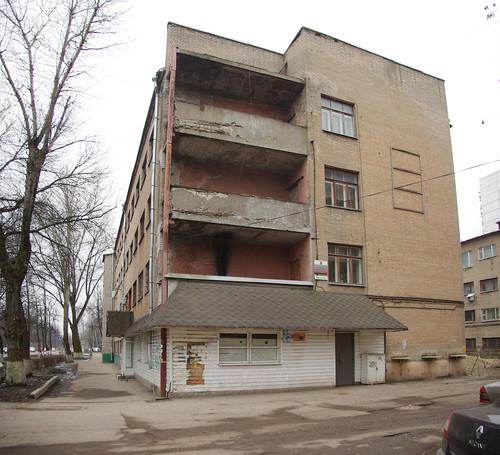 Moscow_Oblast Korolyov ulitsa Dzerzhinskogo 24/2 ©  trolleway