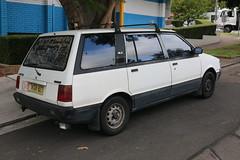 1985 Mitsubishi Nimbus UA GLX (jeremyg3030) Tags: 1985 mitsubishi nimbus ua glx cars japanese mpv peoplemover wagon