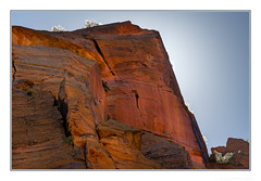Catching the Light (JohnKuriyan) Tags: utah zion canyon national park